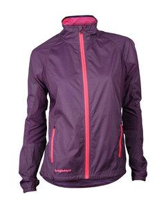 Hp Jacket Women Dark Plum/coral