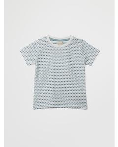 En Fant Ss T-shirt-oekotex 30-20 Blue Surf