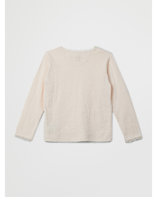 EN FANT En Fant Ls T-shirt 20-98 Pink Champagne