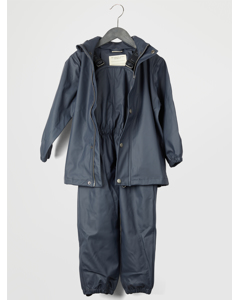 Gate Rainwear W/ Suspenders 03-58 Dark Navy