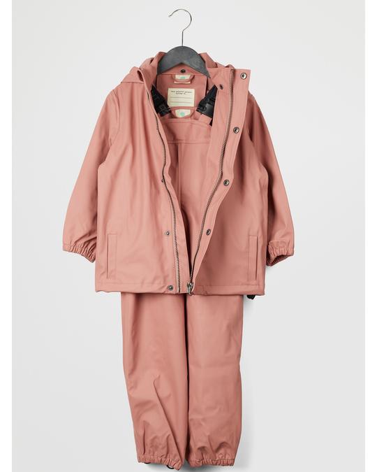 EN FANT Gate Rainwear W/ Suspenders 02-56 Old Rose