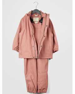 Gate Rainwear W/ Suspenders 02-56 Old Rose