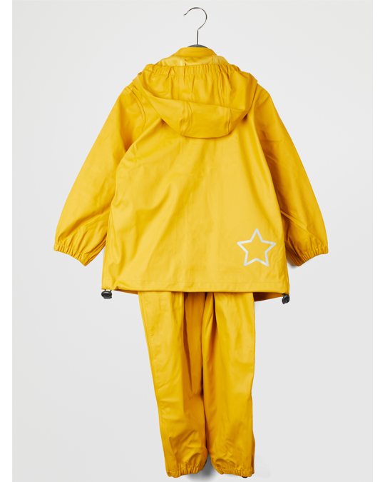 EN FANT Gate Rainwear Set W/ Suspenders 02-02 Nugget Gold