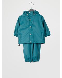 Gate Rainwear Set W/ Suspenders 04-51 Balsam