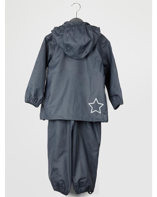 EN FANT Gate Rainwear W/ Suspenders 03-58 Dark Navy