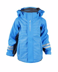 Rain Fleece Jacket Kids Blue/dark Grey