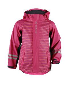 Rain Fleece Jacket Kids Cerise/dark Grey