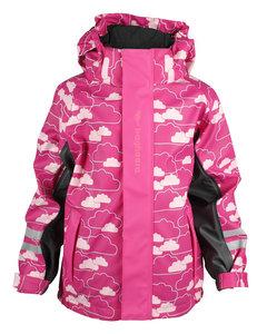 Rain Fleece Jacket Kids Cerise/pink