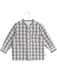 Shirt Pocket Ls Greyblue