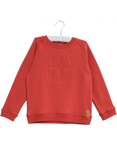 Sweatshirt Spiderman Paprika