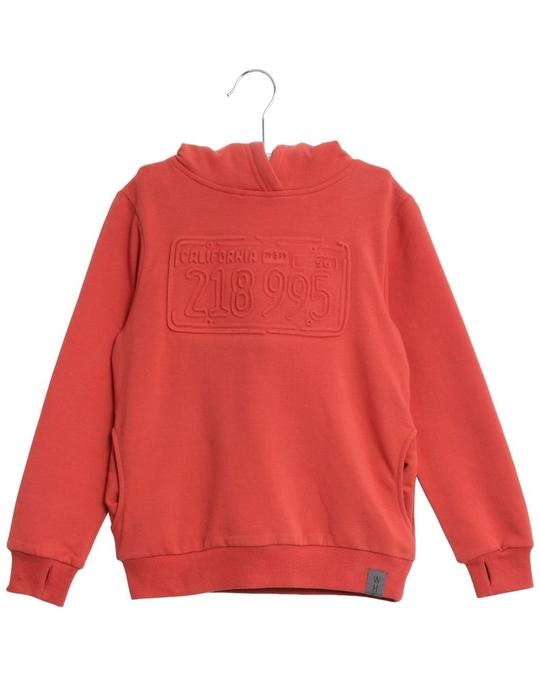 Wheat Sweatshirt License Plate Paprika