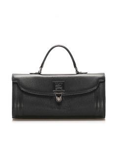 Burberry Leather Handbag Black