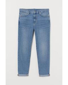 Tapered Jeans Licht Denimblauw