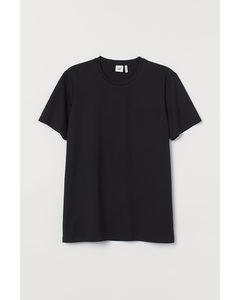 T-shirt I Premium Cotton Svart
