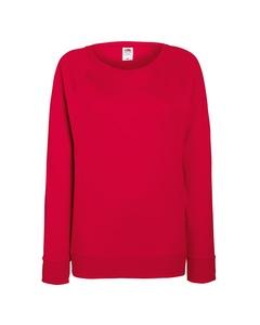 Fruit Of The Loom Ladies Fitted Lightweight Raglan Sweatshirt (240 Gsm)