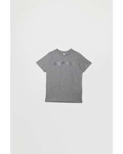 T-shirt Ss Perm 260-mid Heather Grey