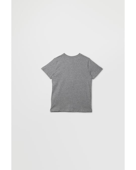 Esprit T-shirt Ss Perm 260-mid Heather Grey