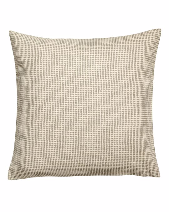 H&M HOME Spotted Cushion Cover Natural White/green Spotted