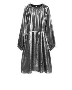 Metallic Dress Silver
