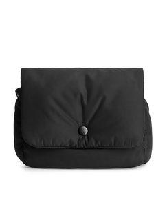 Padded Crossbody Bag Black