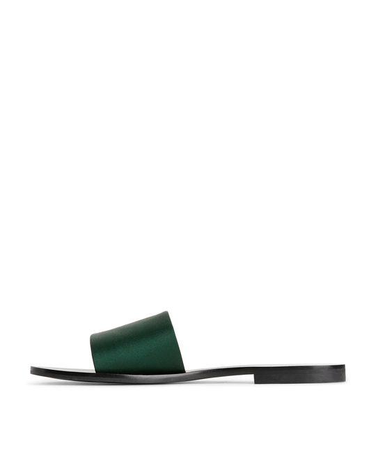 Arket Slide Sandals Green