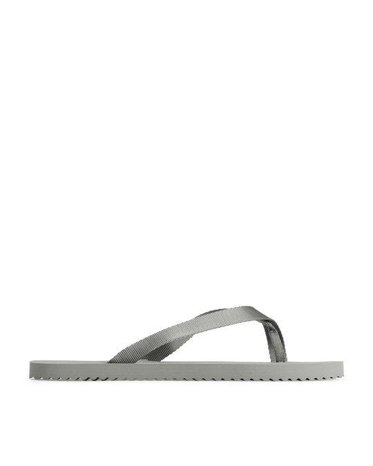 Arket Flip Flops Grey