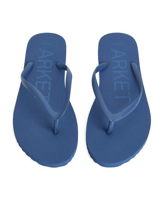 Arket Flip Flops Blue