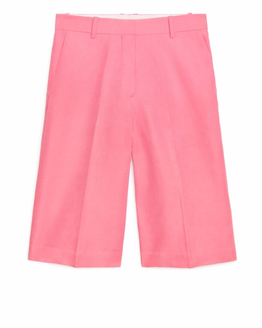 Arket Fluid Culottes Light Pink