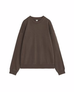 Oversized Sweatshirt Brown