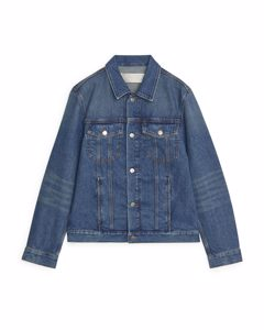 Trucker Denim Jacket Blue