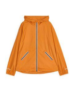 Running Windbreaker Jacket Orange