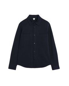 Tricotine Overshirt Dark Blue