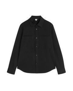 Tricotine Overshirt Black