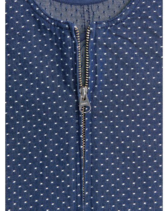 Arket Twill Dress Blue