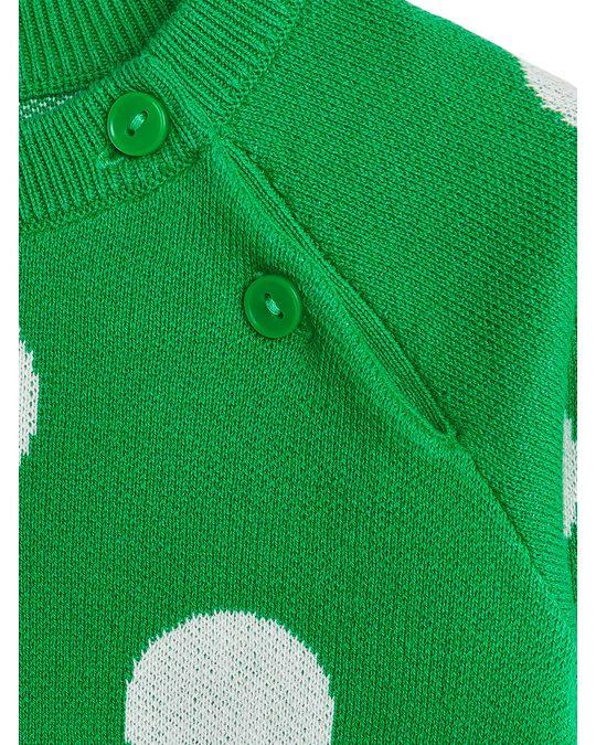 Arket Jumper Green