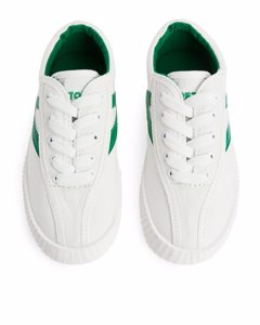 Tretorn Nylite Canvas Off White/green