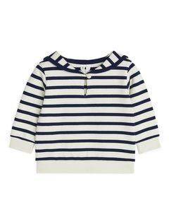 Sailor Sweatshirt Blue/light Beige
