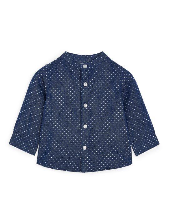 Arket Dobby Shirt Blue