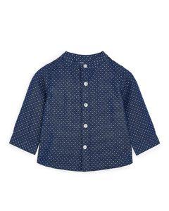 Dobby Shirt Blue