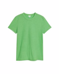 Ice Crepe T-shirt Green
