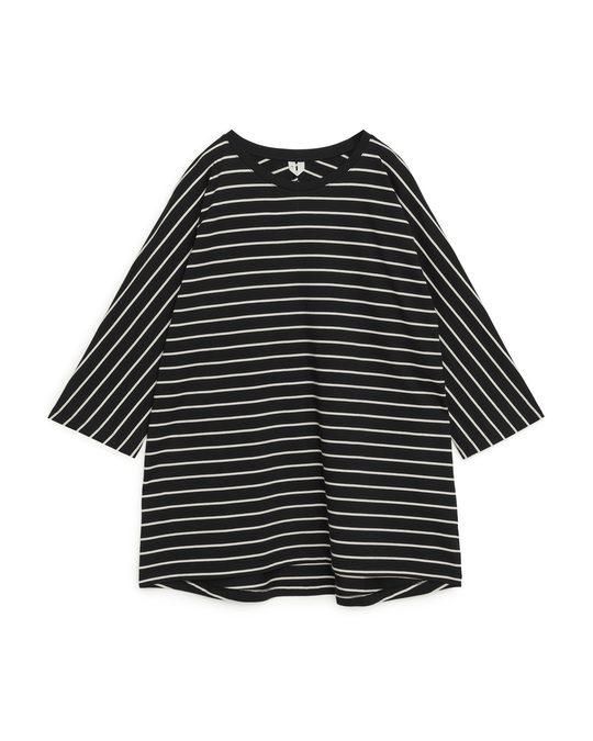 Arket A-Line T-Shirt Black