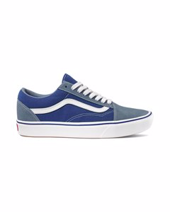 Ua Comfycush Old Skool M Blue Mirage/blue Print