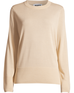 Pin Sweater Soft Beige
