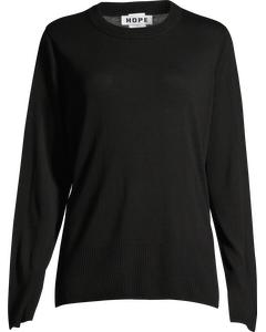 Pin Sweater Black