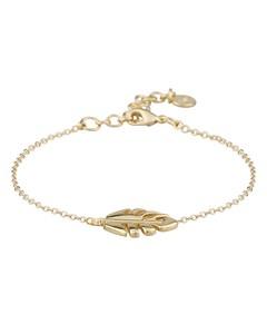 Hyde Leaf Chain Bracelet