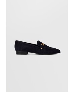 Biabrenda Suede Loafer Wf  Navy Blue