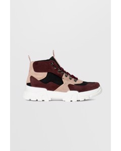 Biacanary Hiking Hightop  Burgundy