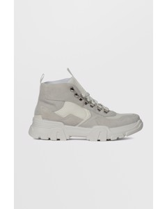 Biacanary Hiking Hightop  White