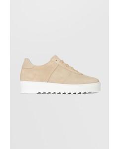 Biacommet Suede Shoe  Creme