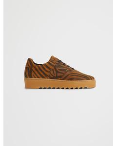 Biacommet Suede Shoe Tiger